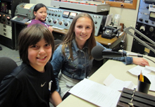 Kids in studio
