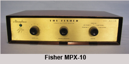 Fisher MPX10